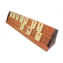 Remi cu table din lemn - Rummy - Kardesler