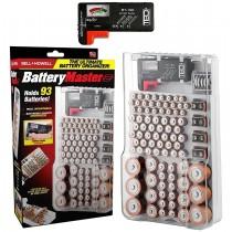 Set Organizator si tester pentru stocarea bateriilor