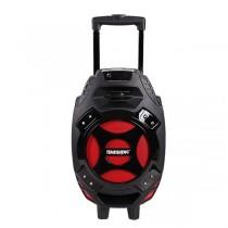 Boxa activa karaoke portabila Temeisheng Q7 cu SD-card, MP3 si stick USB