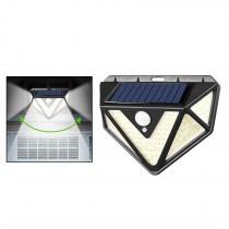 Lampa Solara triunghiulara, cu senzor de miscare, 3 moduri de iluminare