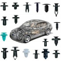 Set clipsuri tip cleme de plastic auto pentru interior exterior