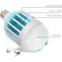 Bec LED 2in1 cu lampa UV impotriva insectelor