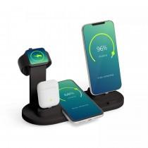 Statie de incarcare wireless pentru telefoane mobile, ceasuri, casti