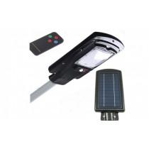 Proiector stradal cu panou solar, senzor de miscare si telecomanda 30W
