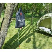 Dus solar pentru camping, 20 litri