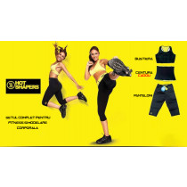 Pachetul complet pentru modelare corporala si fitness + centura cadou