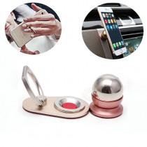 Suport iRing magnetic multifunctional 360° pentru smartphone, GPS