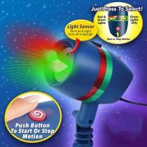 Proiector luminos Laser Motion rezistent la apa