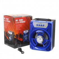 Boxa wireless portabila cu bluetooth, functii Mp3 Player, Radio FM, USB, SD, TF, acumulator incorporat
