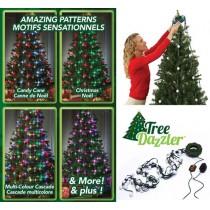 Instalatie luminoasa cu Globuri LED 16 culori Tree Dazzler