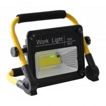Proiector solar mobil 50W, IP67, cu suport ajustabil