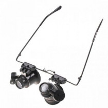 Ochelari multifunctionali cu magnifiere 20x si LED
