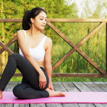 Saltea de Yoga si exercitii fizice, Material NBR