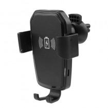 Suport auto telefon cu prindere ventilatie si incarcare Wireless