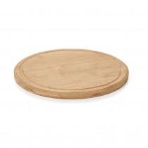 Tocator rotund lemn, diametru 24 cm