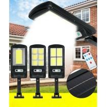 Oferta Lampa Solara de Perete 1 + 1, cu senzor de miscare si telecomanda