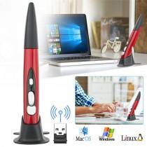 Mouse Optic Wireless Air Pen cu design in forma de pix