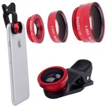 Set lentile universale 3in1 pentru telefon