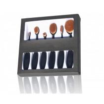 Set 6 perii profesionale puf natural pentru machiaj