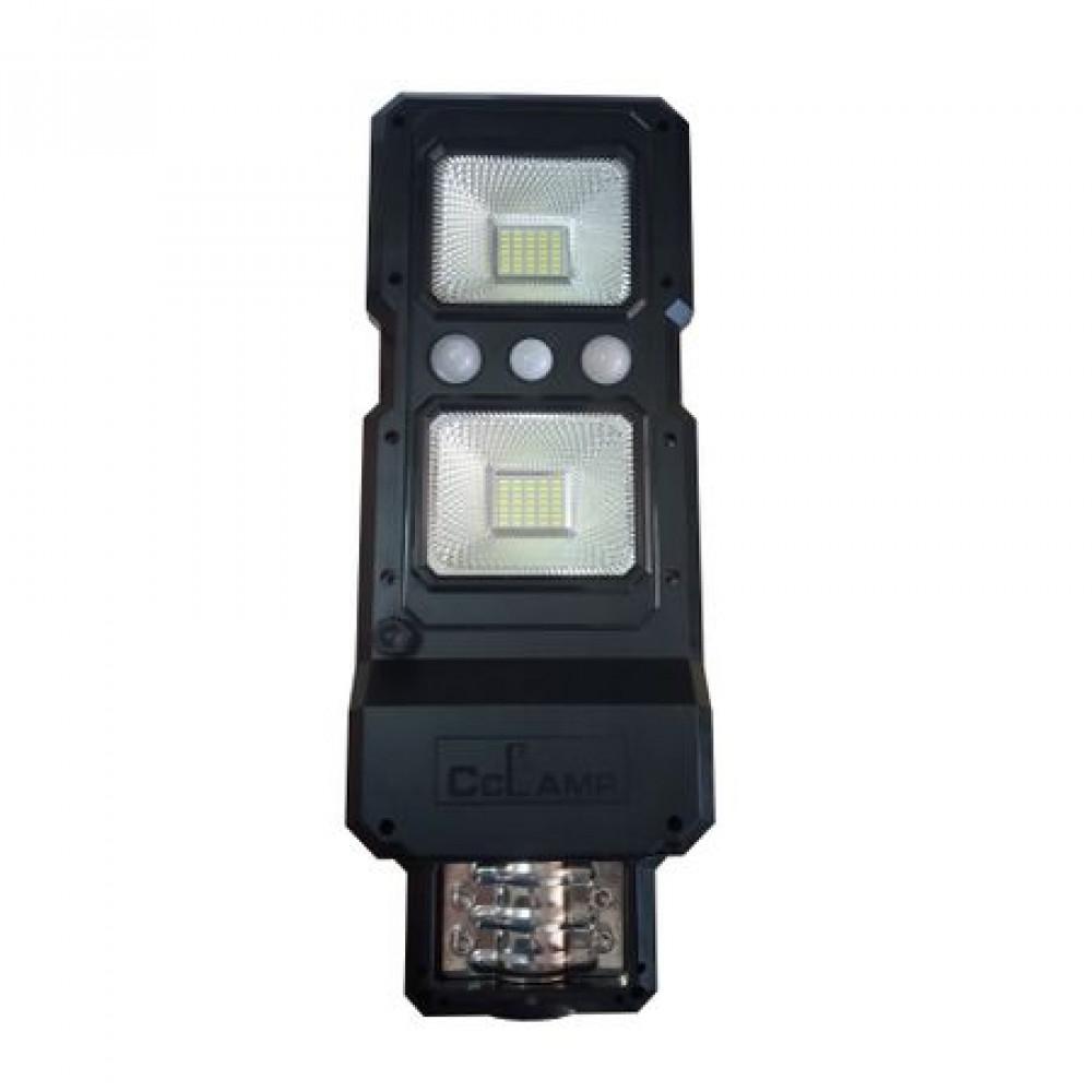Image of Lampa stradala 40W LED cu senzor de miscare si panou solar